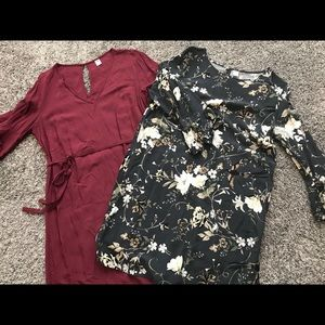 Old Navy (2) dresses size large